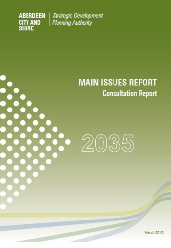MIR Consultation Report Cover